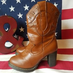 Roper Western Sexy Cowgirl Heeled Boots
